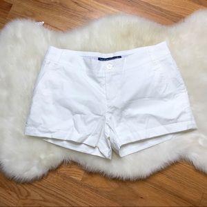Lauren James white shorts